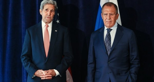 The talks, Lavrov and Kerry continued after the official meeting