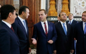 Medvedev: in the framework of the CIS free trade area should create conditions for producers