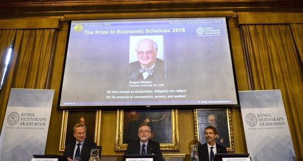 Nobel laureate Deaton hopes to help developing countries