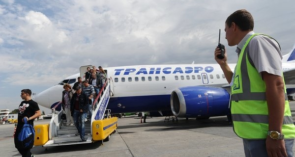 "The transport Ministry is concerned about the problems with the system of return tickets of ""Transaero"""