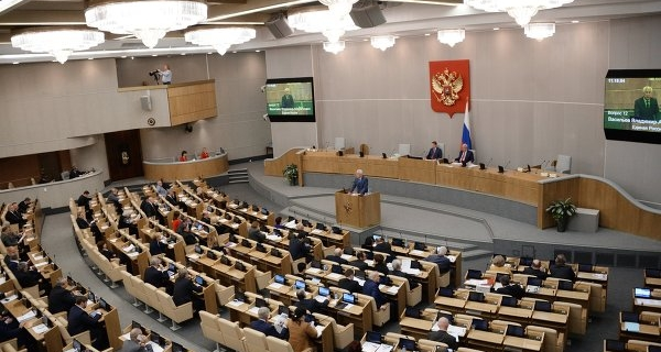 The project is about the tax exemption of heavy vehicles prepared in the state Duma