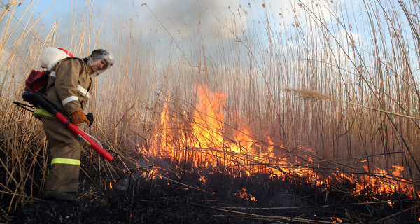 The suppression of wildfires in 2015 at a cost of Kolyma in 13 million roubles