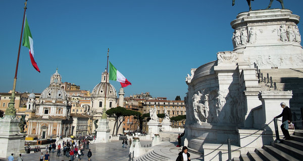 The MAYOR of Italy is hoping to resolve all the difficulties in relations with Russia