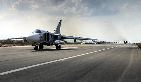 The media learned about a ground operation in Syria during Russian airstrikes