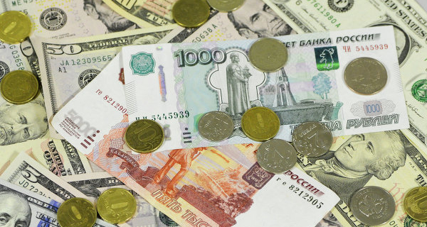 In the morning the ruble fell by 11 cents to the dollar and 12 kopecks to the Euro