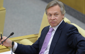 Pushkov: in the state Duma there is a consensus concerning actions of the Russian space forces in Syria