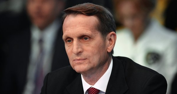 Naryshkin called the theater of the absurd personal sanctions of the EU against the Russians
