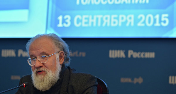 Churov has proposed to introduce voting by phone in remote areas