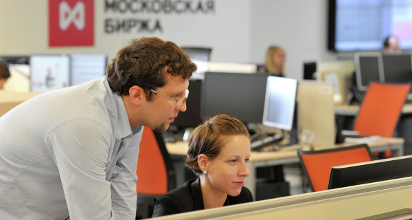 The Russian stock market grew on the background of strengthening of the ruble