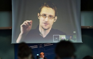 Snowden has declared his willingness to sit in a U.S. prison