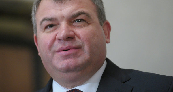 """Serdyukov became the industry Director for aerospace """"Rostec"""""""