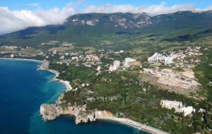 The construction of the power bridge from Taman in Crimea is in full swing