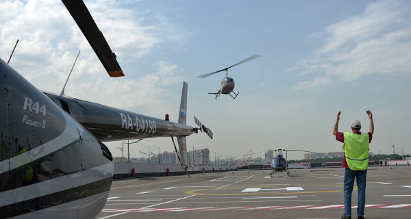 """Heliport Russia"" applied for air operator certificate"