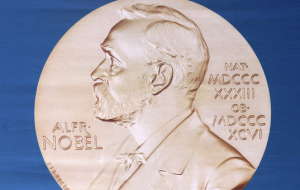 In the Kremlin with interest at the awarding of the Nobel prize