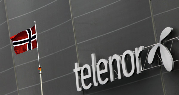 Telenor's net profit for the 9 months decreased to $955 million
