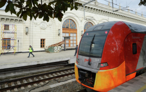 "Trains ""Swallow"" run from St Petersburg to Volkhov and Tosno"