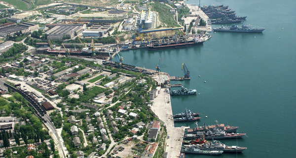 The boundaries of the port of Sevastopol, fall under the regulation