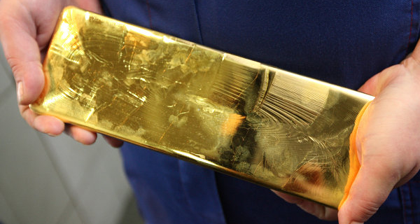 The gold varies slightly in price before the fed meeting USA