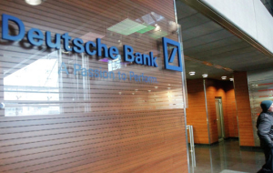 Deutsche Bank in the third quarter suffered a record loss at 6 billion euros