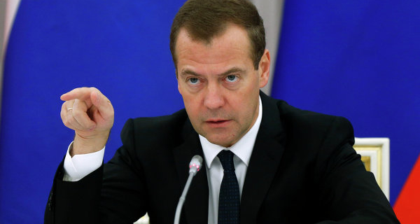 Medvedev: Kiev and Chisinau can not participate in two FTA