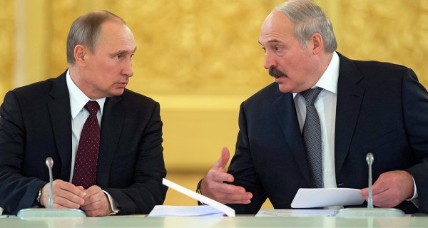 Putin and Lukashenko discussed current international issues