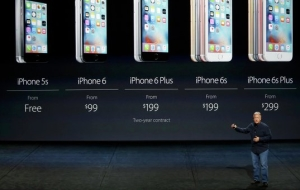 Apple introduced a completely changed iPhone 6S and iPhone 6S Plus