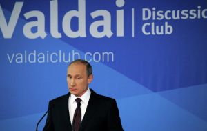 "Putin will take part in discussion club ""Valdai"""