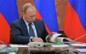 Putin on the term of stay in power: it will all depend on the situation