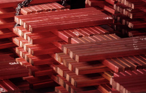 The copper price declines on fears over China's economy