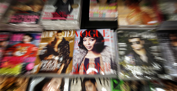 The FAS found in Russian Vogue magazine 50% advertising