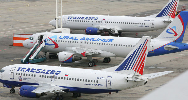 The contracts between Aeroflot and Sberbank on planes Transaero will be the market