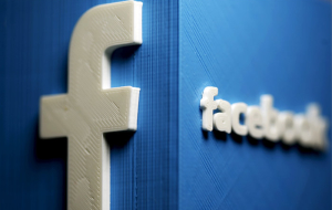 The stock price of Facebook for the first time exceeded $100