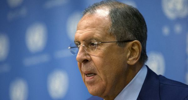 Lavrov said that the unipolar world no longer exists