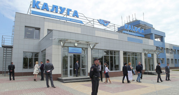 """The airport """"Kaluga"""" will be sent in November and the first international flights"""