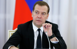 Medvedev signed the document on the railroad southward to bypass Ukraine