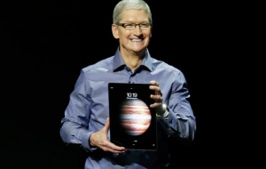 The new iPad Pro from Apple will receive an electronic stylus and a keyboard