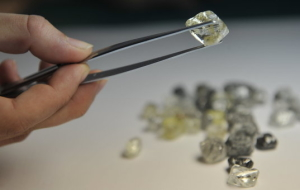ALROSA for 9 months increased diamond production by 16%
