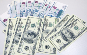 The dollar rose above 65 rubles for the first time since October 6