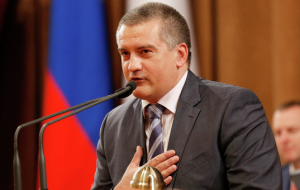 Aksenov: the siege of Crimea resembles the script of the Comedy cartoon