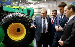 "The Leningrad region was awarded the Grand prize at the agricultural exhibition ""Golden autumn-2015"""