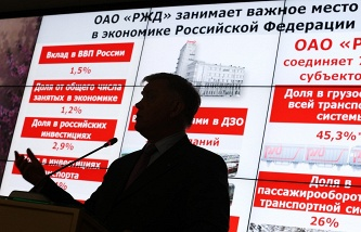The head of Russian Railways will be asked to make perpetual measures to support commuter traffic