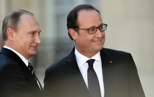 Putin and Hollande plan to discuss terrorism, Ukraine and Syria