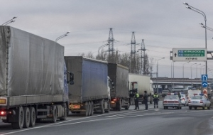 """Rosavtodor: the system """"Platon"""" for two weeks of work collected 550 million rubles"""