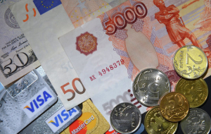 In the afternoon the ruble slightly corrected downward after strong growth ahead