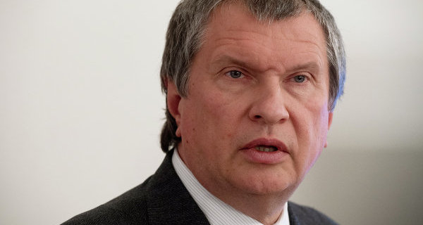 Sechin reported an increase in oil export from Russia to Japan