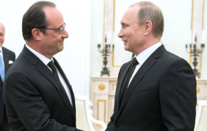 Putin after the meeting with Hollande: we are United in order to punish terrorists