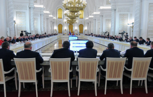 The Presidium of the state Council of the Russian Federation will meet on 24 November to discuss the substitution