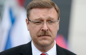Kosachev: we need sanctions for countries engaged in dialogue with terrorists