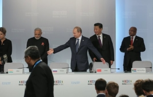 Putin: trade growth the BRICS will help the implementation of the Ufa strategy
