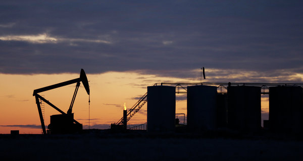 Oil is trading mixed ahead of data on U.S. inventories